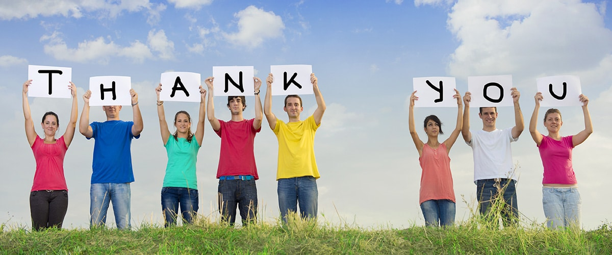 The Best Time to Say 'Thank You'